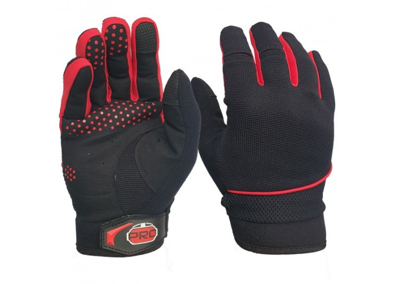 PST Sim Racing Gloves - RED