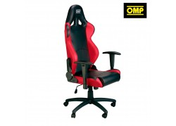 OMP Office Chair Black/Red