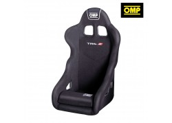 OMP TRS-E Racing Seat Black